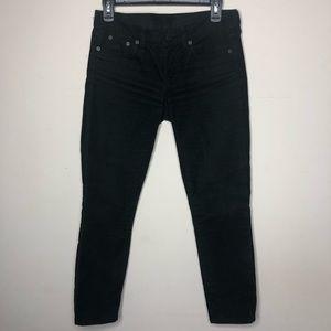 J Crew | Corduroy skinny jeans | 26